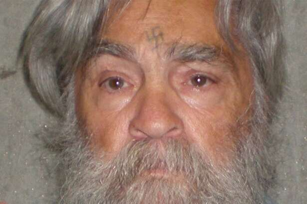 FILE - This April 4, 2012 file photo provided by the California Department of Corrections shows 77-year-old serial killer Charles Manson Wednesday, April 4, 2012. Manson will have an April 11, 2012 parole hearing in California.