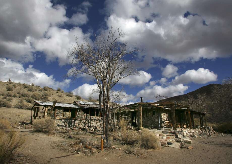 Barker Ranch, an abandoned desert cabin that was Charles Manson's last hideout after his notorious cult killings. Photo: Gary Kazanjian, AP