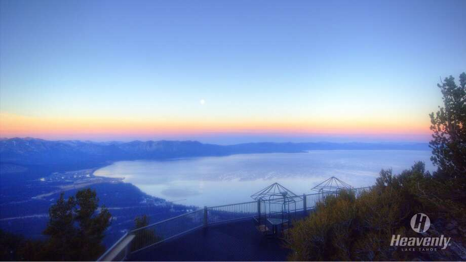 Heavenly deck: you can smell the change coming Photo: Heavenly Mountain Resort