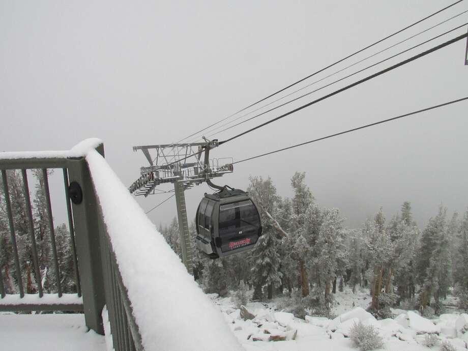 Rails at Heavenly Photo: Heavenly Mountain Resort