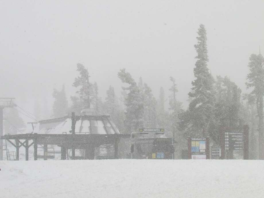 Heavenly gets its own whiteout Photo: Heavenly Mountain Resort