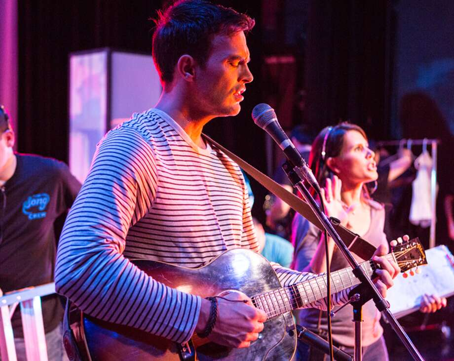 Cheyenne Jackson plays a singer/songwriter hoping to realize his dream via a reality show in 'The Song' being filmed in S.A. Photo: Thesongmovie.net