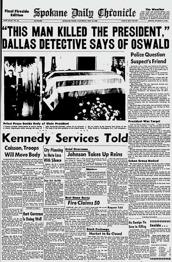 Spokane (Wash.) Daily Chronicle. Photo: Google News Archive
