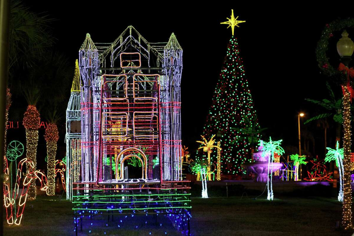The Hidalgo Festival of Lights features 3 million lights along a 3-mile trail.