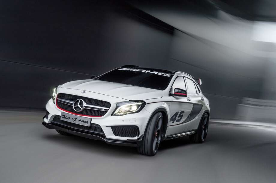 Concept GLA45 AMG. Photo: Wieck