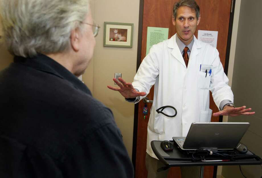 Dr. Jonathan Shaffer thinks more doctors will consider concierge practices to increase time with patients. Photo: J. Patric Schneider, Freelance / © 2013 Houston Chronicle