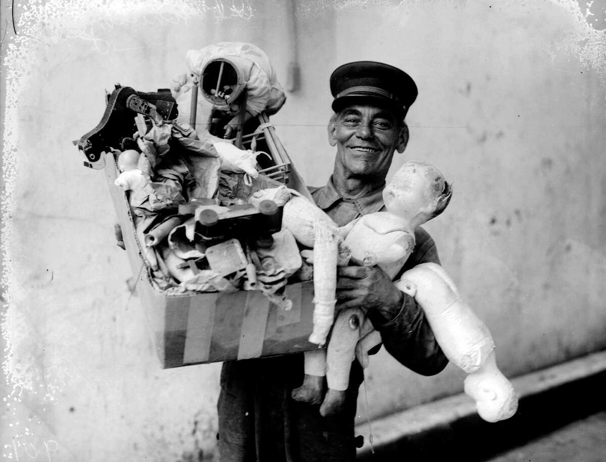 The Institute of Texan Cultures shared these classic photographs of San Antonio firefighters collecting and repairing toys as part of the annual Toy Day. Donations of used toys were accepted and repaired to help those in need. Thursday, Nov. 21, SAFD kicked off its annual toy drive - the perfect time to look back at then and now.