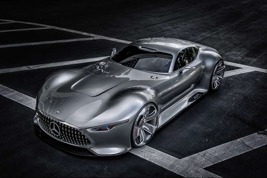 Mercedes-Benz AMG Vision Gran Turismo. Photo: Wieck