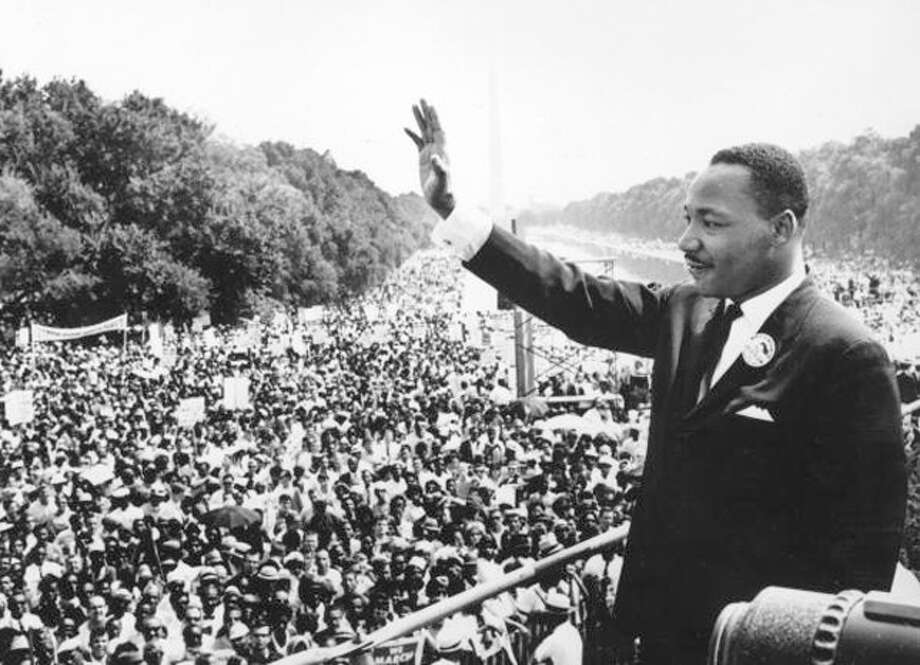"The Rev. Martin Luther King Jr. delivers his historic ""I Have a Dream Speech."" Photo: Agence France Presse, Getty Images / Hulton Archive"