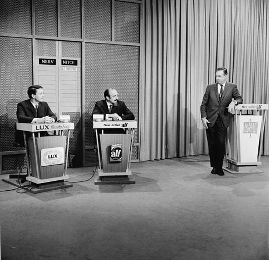 "Hugh Downs hosted TV's ""Concentration."" Photo: NBC, NBC Via Getty Images / © NBC Universal, Inc."