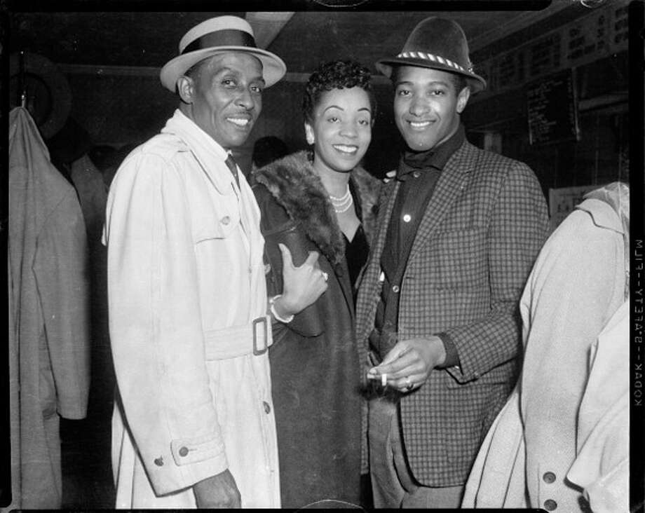"Singer Sam Cooke and his band are arrested for trying to stay at a ""whites only"" motel in Louisiana. Photo: Teenie Harris Archive/Carnegie M, Getty Images / Carnegie Museum of Art"