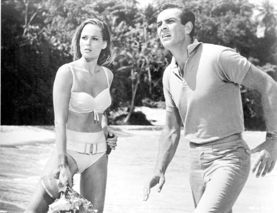 """Dr. No"" becomes the first James Bond movie released in the U.S. Photo: Michael Ochs Archives / Michael Ochs Archives"