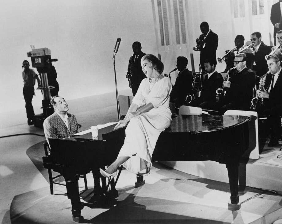 "Edie Adams is accompanied by jazz great Duke Ellington on her ""Here's Edie"" variety show. Photo: Courtesy Josh Mills"