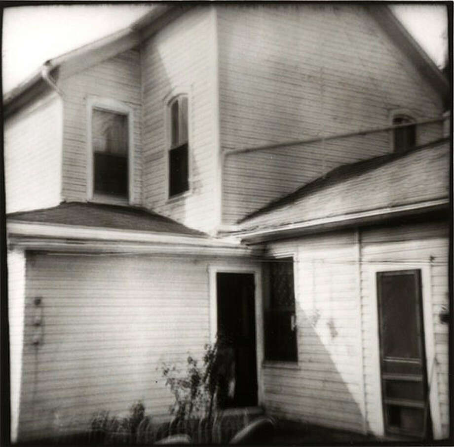 """""""Folding House,"""" shot with a toy Diana camera, is from Nancy Rexroth's landmark 1977 monograph """"Iowa."""""""