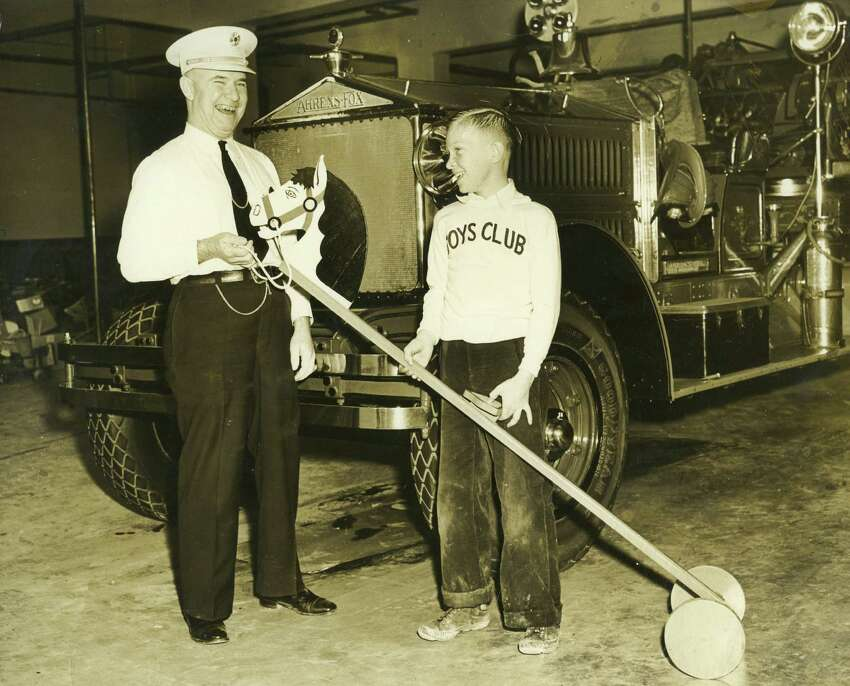 The tradition dates back to the 1930s, when the fire department had workshops where they would restore the toys during their down time. Children were treated to an afternoon of entertainment, usually at the Majestic Theater, with cartoons and movies.