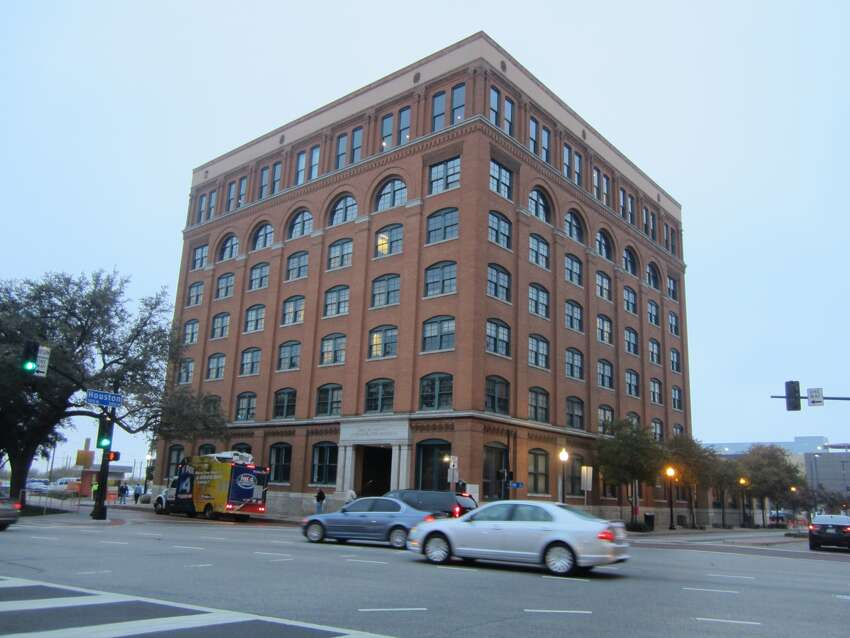 The former Texas School Book Depository building, now a Dallas County Administration Building, was the building from which three shots were fired on President John F. Kennedy's motorcade on Nov. 22, 1963.