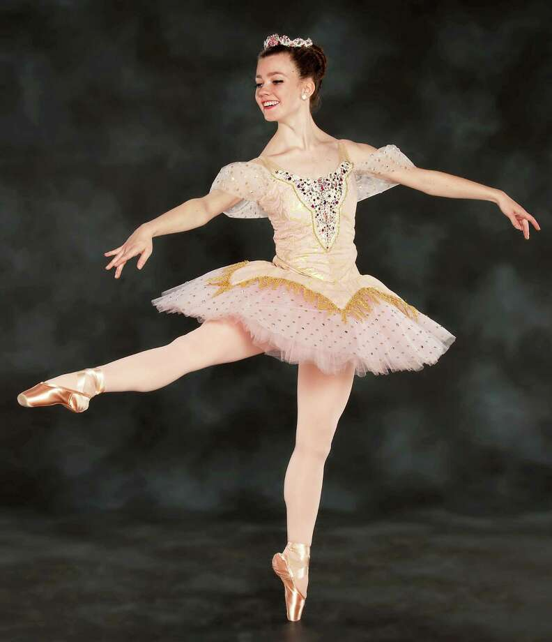 "Emily Smith, 17, of Westport will dance the role of the sugar plum fairy in ""The Nutcracker"" at the Quick Center. Photo: Contributed Photo / Fairfield Citizen"