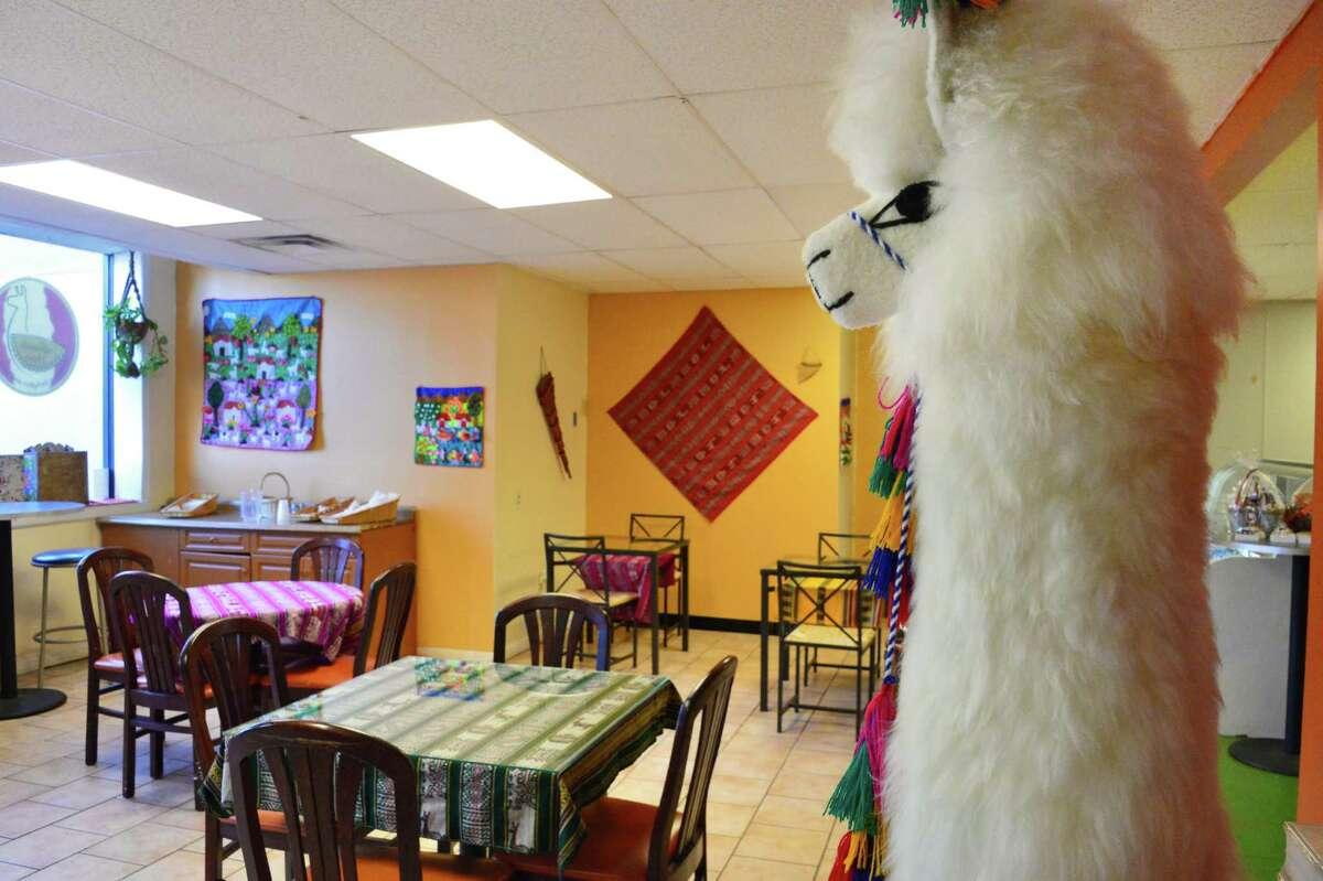 Interior of La Empanada Llama restaurant Thursday Nov. 14, 2013, in Albany, NY. (John Carl D'Annibale / Times Union)