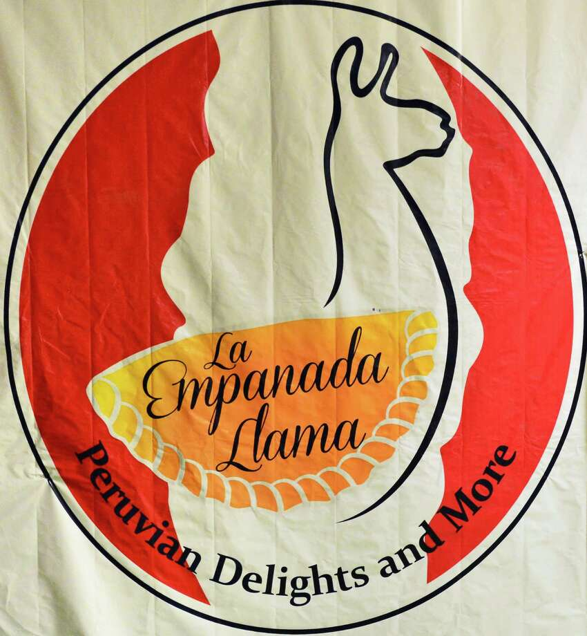 La Empanada Llama. 26B Picotte Drive, Albany.A woven banner at La Empanada Llama restaurant Thursday Nov. 14, 2013, in Albany, NY.  (John Carl D'Annibale / Times Union) Photo: John Carl D'Annibale / 00024641A
