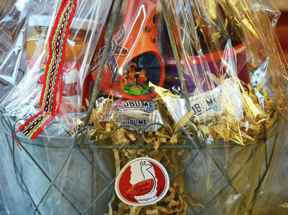 La Empanada Llama. 26B Picotte Drive, Albany.A gift basket on sale at La Empanada Llama restaurant Thursday Nov. 14, 2013, in Albany, NY.  (John Carl D'Annibale / Times Union) Photo: John Carl D'Annibale / 00024641A