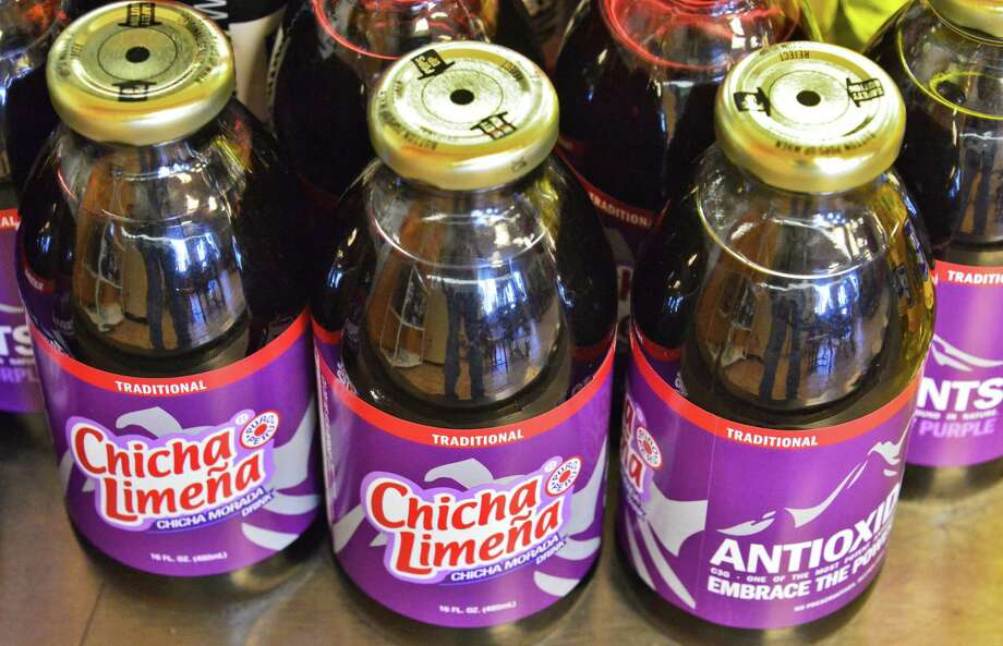 La Empanada Llama. 26B Picotte Drive, Albany.Chich Morada, a traditional Peruvian soft drink make from purple corn,  at La Empanada Llama restaurant Thursday Nov. 14, 2013, in Albany, NY.  (John Carl D'Annibale / Times Union) Photo: John Carl D'Annibale / 00024641A