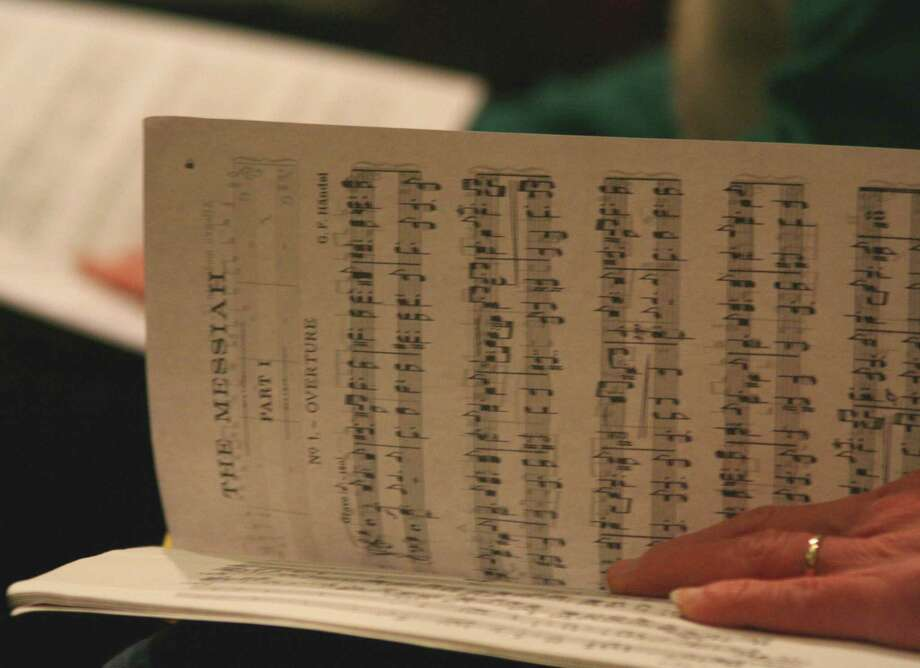 The Messiah Score (Courtesy Berkshire Bach Society)