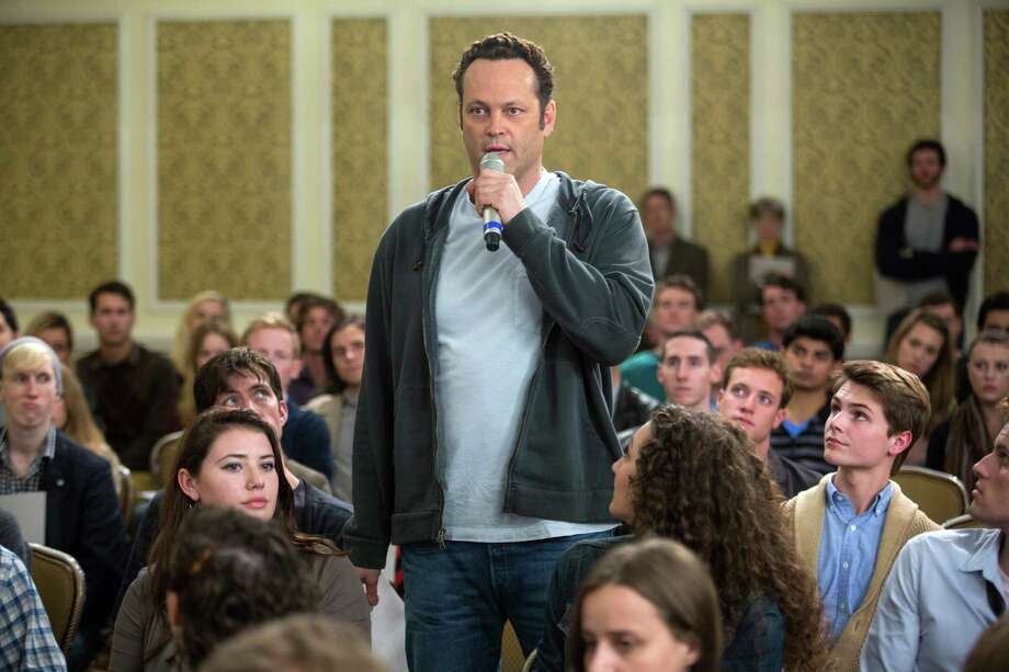"This image released by Disney DreamWorks II Distribution Co. shows Vince Vaughn in a scene from ""Delivery Man"". (AP Photo/Disney-DreamWorks II Distribution Co., Jessica Miglio) ORG XMIT: NYET531 Photo: Jessica Miglio / Disney-DreamWorks II Distribution Co."
