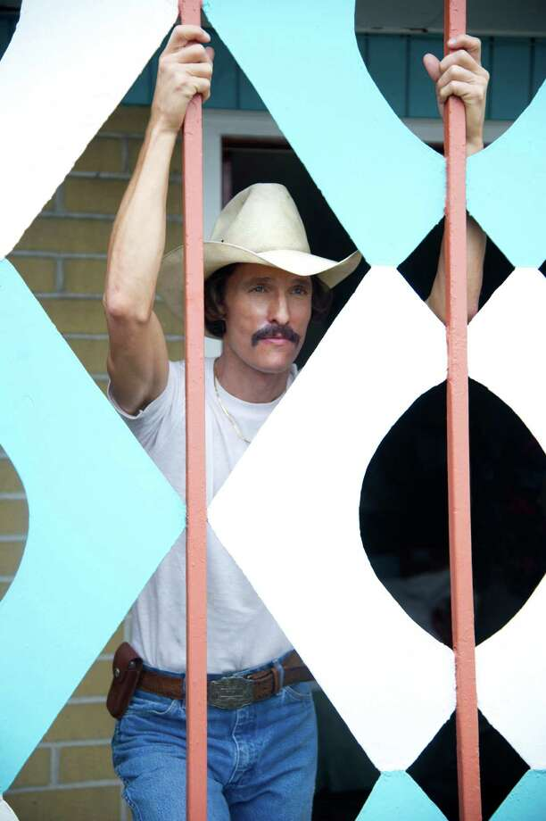 "This image released by Focus Features shows Matthew McConaughey as Ron Woodroof in a scene from ""Dallas Buyers Club."" (AP Photo/Focus Features, Anne Marie Fox) ORG XMIT: NYET111 Photo: Anne Marie Fox / Focus Features"