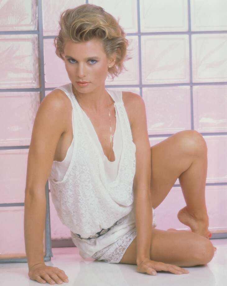 "Nicollette Sheridan in 1982, when she played ""Paige Matheson"" in Knots Landing. Photo: CBS Photo Archive, CBS Via Getty Images"