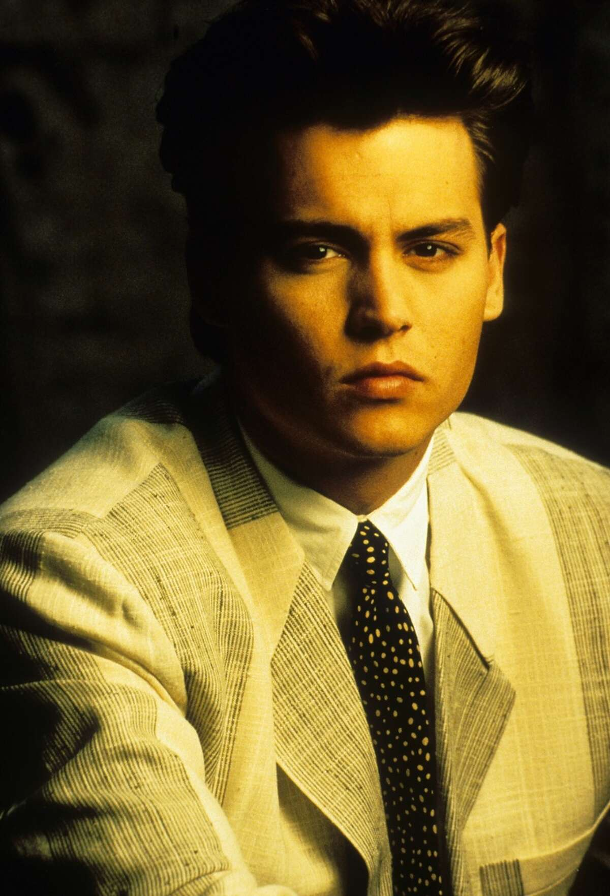 Johnny Depp in a 1987 publicity portrait from