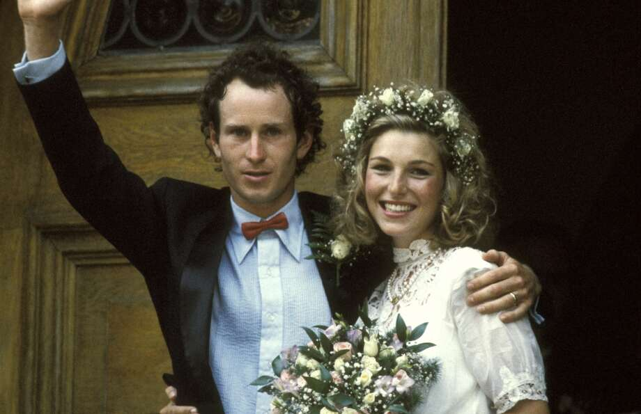 Tatum O'Neal and John McEnroe at their wedding in 1986. Photo: Ron Galella, WireImage
