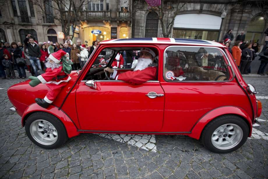 Porto, SpainThis mini car was a head turner in Porto at a 2010 parade. Photo: AFP, AFP/Getty Images