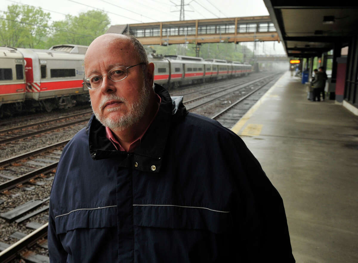 Jim Cameron has quit his position as chairman of the Connecticut Rail Commuter Council.
