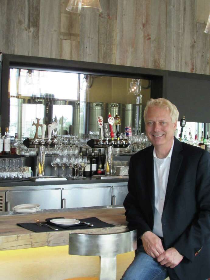 Dan Ward, general manager of Piatti Ristorante & Bar, shows his newest Piatti facility at Éilan. Photo: Burt Henry / San Antonio Express-News