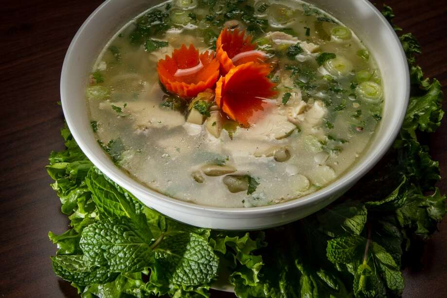 The Lao's Chicken Soup at Champa Garden in San Francisco. Photo: John Storey, Special To The Chronicle