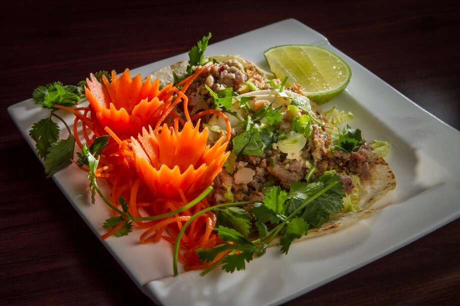 The Laos Tacos at Champa Garden in San Francisco. Photo: John Storey, Special To The Chronicle