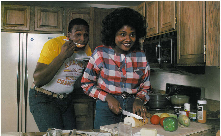 Guard Edwin Bailey is pictured with his wife, Cherise. Photo: Corky Trewin/Seattle Seahawks