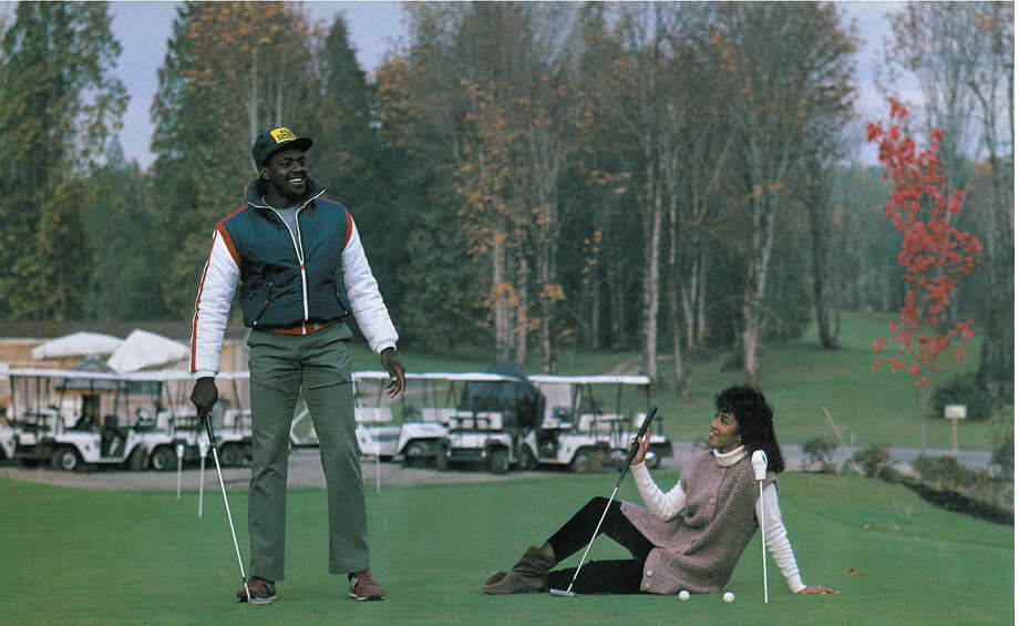 Safety Kenny Easley is pictured with his wife, Gail. Photo: Corky Trewin/Seattle Seahawks