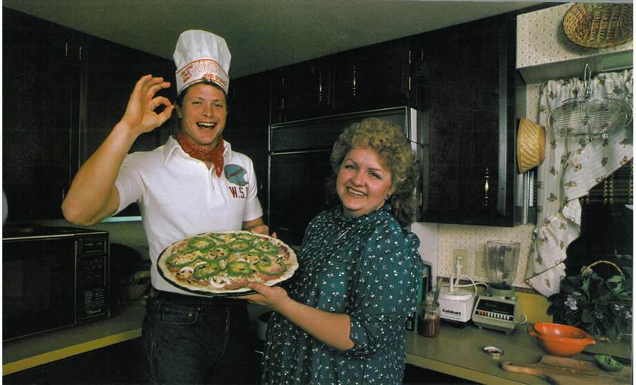 Running back Dan Doornink is pictured with his wife, Sharon. Photo: Corky Trewin/Seattle Seahawks