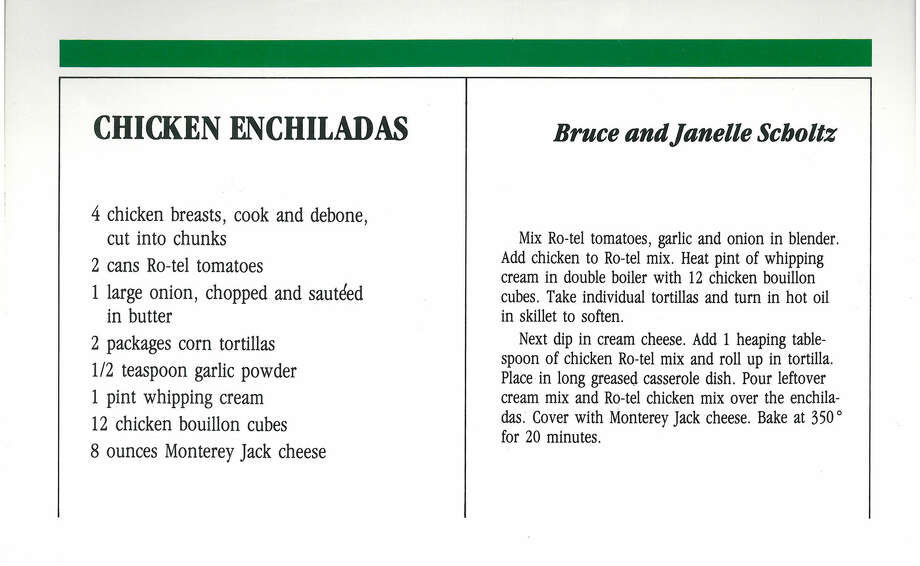 Scan from 1983 Seattle Seahawks cookbook. Photo: Seattle Seahawks