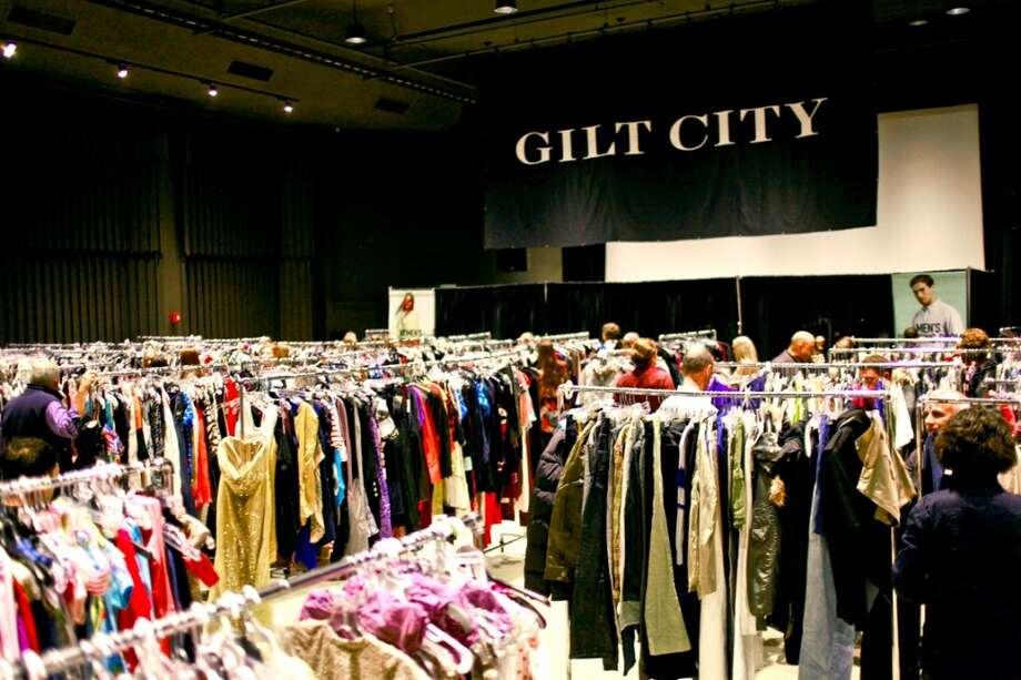 The Gilt Warehouse Sale offers even larger designer discounts (up to 90 percent off) than the popular flash-sale website. Tickets are sold for specific time slots, and items are restocked throughout the day to keep mayhem at bay. Photo: Gilt