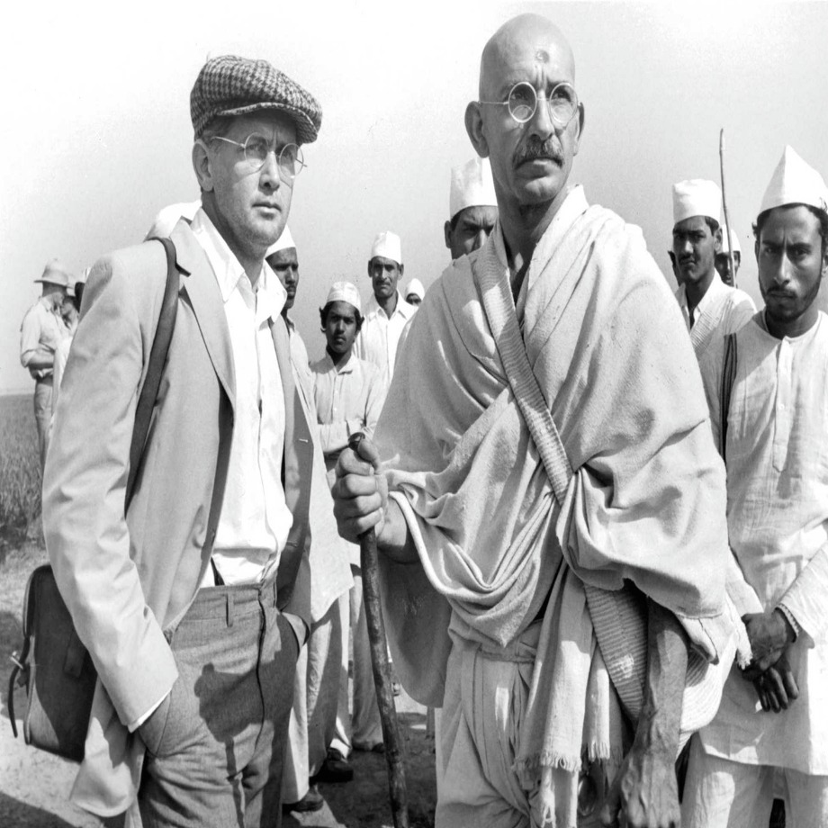 'Gandhi' sequel: We're watching and reading this sequel on television news pretty much daily as it is. But, what if the sequel was one where Gandhi didn't die, but had been … Okay, that's just too dumb to imagine. 