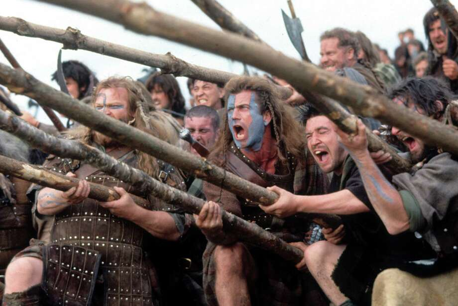 'Braveheart' sequel: He's left behind a whole herd of children who gain the reputation of being great drinkers, bawdy poets (Robert Burns!?) and jokesters who continue to hate and sometimes fight British rule!!! Oh, yeah. That's real life.  