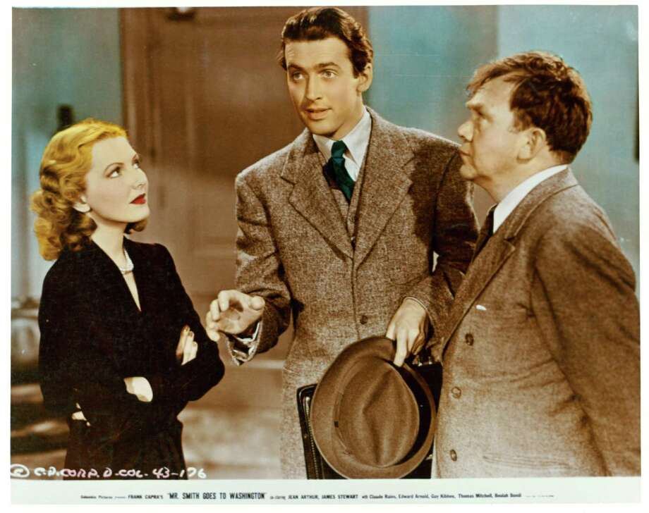 """'Mr. Smith Goes to Washington' sequel:It already happened: """"There's an old saying in Tennessee — I know it's in Texas, probably in Tennessee — that says, fool me once, shame on — shame on you. Fool me — you can't get fooled again."""" Photo: James Stewart in a scene from the film 'Mr. Smith Goes to Washington', 1939. Photo: Archive Photos, Getty Images / 2012 Getty Images"""