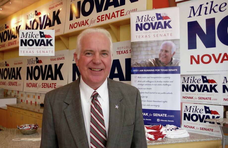 Former Bexar County Commissioner Mike Novak is the best candidate for the GOP nomination to the Texas Senate District 25 post. Photo: File Photo, San Antonio Express-News / © 2013 San Antonio Express-News