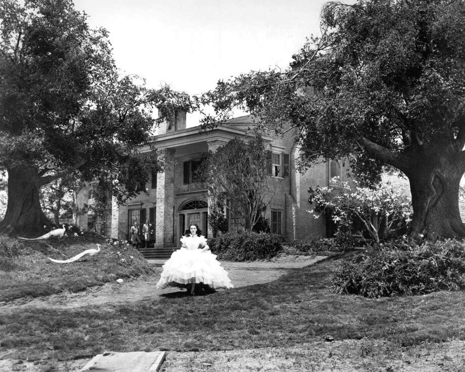 """'Gone with the Wind' sequel:As Rhett is about to walk out the door, Scarlett begs him to stay but to no avail, and he walks away into the early morning fog leaving Scarlett weeping on the staircase and vowing to one day win back his love,"""" Wikipedia writes. This is a classic setup for a stalker-thriller … but they have already made """"Fatal Attraction."""" Photo: English actress Vivien Leigh (1913 - 1967) as Scarlett O'Hara in 'Gone with the Wind', directed by Victor Fleming, 1939. Photo: Silver Screen Collection, Getty Images / 2013 Getty Images"""