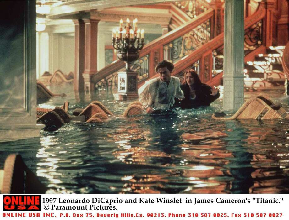 "'Titanic' sequel: You get the picture. Leonardo DiCaprio swims back into Kate Winslet's life and neither one go on to make all those other great movies. The theater doors are locked as you enter ... Photo: Leonardo DiCaprio and Kate Winslet in James Cameron's ""Titanic."" Photo: Getty Images, Getty Images / Hulton Archive"