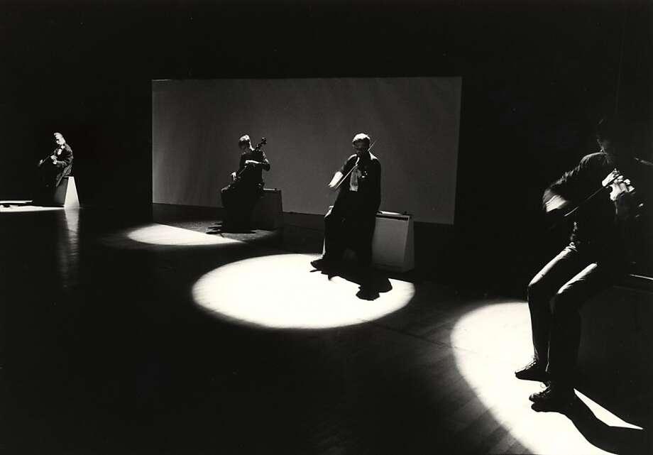 Kronos Quartet added hundreds of works to the string quartet repertoire. Photo: Kronos Quartet