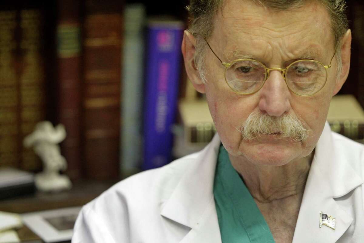 """Dr. James """"Red"""" Duke, now a professor of surgery at UT Medical School in Houston, was a resident at Parkland Hospital in Dallas when President John F. Kennedy was brought there after being shot on Nov. 22, 1963."""