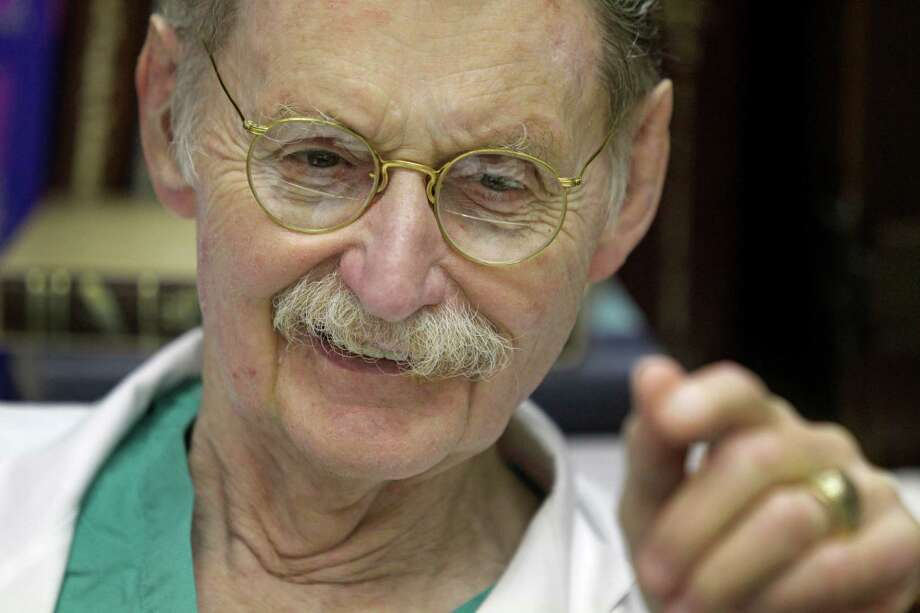 Dr. Red Duke was a professor at the University of Texas Medical School at Houston. The renownedtrauma surgeon who started LifeFlight,was also a resident at Parkland Hospital in Dallas in 1963 when President John F. Kennedy was taken to the hospital after being shot. Duke died Aug. 25, 2015 at the age of 86. Photo: Melissa Phillip, Houston Chronicle / © 2013  Houston Chronicle